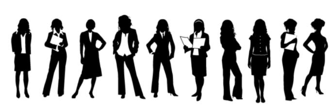 女性の職業別一覧