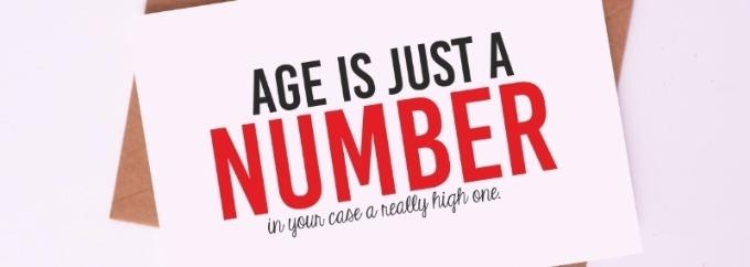 年齢なんてただの数字